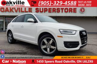 Used 2015 Audi Q3 2.0T PROGRESSIV | PANO ROOF | LED  | HTD SEATS for sale in Oakville, ON