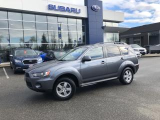 Used 2012 Mitsubishi Outlander ES 4WD No Accidents /76,000 Kms for sale in Port Coquitlam, BC