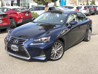 Used 2017 Lexus IS 300 AWD LUXURY PACKAGE for sale in North Vancouver, BC