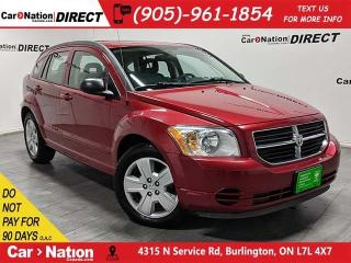 Used 2009 Dodge Caliber SXT| AS-TRADED| SUNROOF| OPEN SUNDAYS| for sale in Burlington, ON