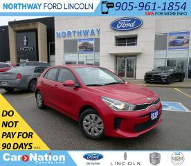 Used 2018 Kia Rio LX | HTD SEATS/WHEEL | BACKUP CAM | TOUCHSCREEN | for sale in Brantford, ON