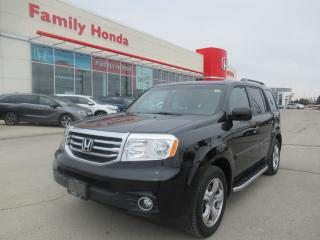 Used 2014 Honda Pilot EX-L w/Rear Entertainment System! for sale in Brampton, ON