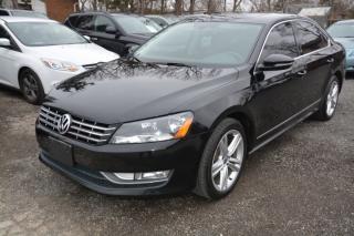 Used 2012 Volkswagen Passat 2.5L Highline, leather, navigation, no accidents for sale in Halton Hills, ON