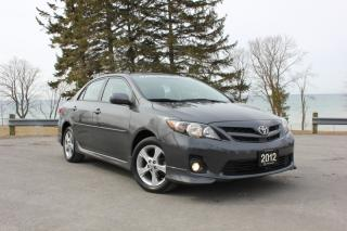 Used 2012 Toyota Corolla 4DR SDN for sale in Oshawa, ON