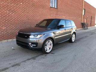 Used 2014 Land Rover Range Rover Sport 4WD 4dr V8 for sale in Mississauga, ON