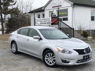 Used 2014 Nissan Altima 1-Owner No-Accidents CVT 2.5 Backup Cam Bluetooth for sale in Sutton, ON