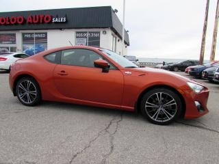 Used 2014 Scion FR-S AUTOMATIC NAVIGATION CAMERA CERTIFIED 2YR WARRANTY for sale in Milton, ON