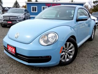 Used 2014 Volkswagen Beetle TDI Comfortline Sunroof Certified for sale in Guelph, ON