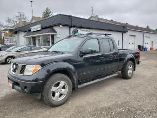 Used 2008 Nissan Frontier LE Crew Cab Long Bed 4WD for sale in Bloomingdale, ON