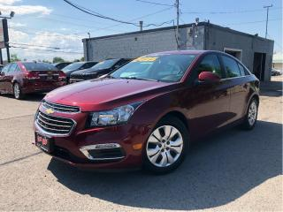 Used 2015 Chevrolet Cruze LT 1LT New Tires | B/U Cam | Cruise| Auto | for sale in St Catharines, ON
