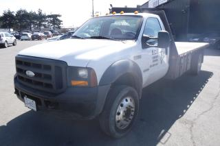 Used 2007 Ford F-450 SD Regular Cab 2WD 16 Foot Flat Deck Diesel for sale in Burnaby, BC