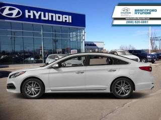Used 2015 Hyundai Sonata SPORT TECH | ONE OWNER | HEATED SEATS + STEERING  - $116.00 B/W for sale in Brantford, ON