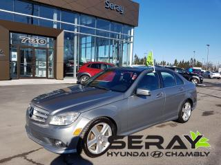 Used 2010 Mercedes-Benz C-Class C300 Awd, Cuir for sale in Chambly, QC