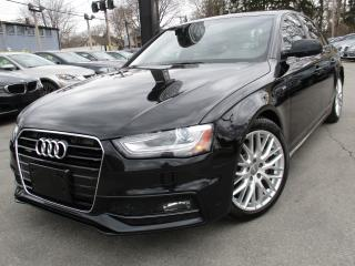 Used 2015 Audi A4 2.0T QTRO S-LINE~KOMFORT~ONE OWNER~79KMS !!! for sale in Burlington, ON