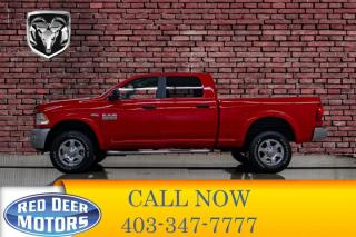 Used 2017 RAM 2500 4x4 Crew Cab Outdoorsman for sale in Red Deer, AB