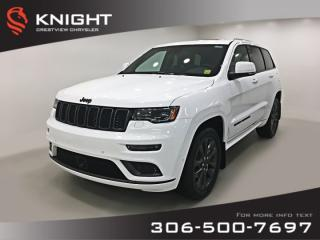 New 2019 Jeep Grand Cherokee High Altitude V6 | Sunroof | Navigation for sale in Regina, SK
