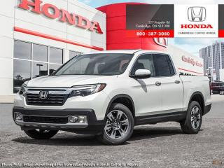 New 2019 Honda Ridgeline Touring TOURING for sale in Cambridge, ON