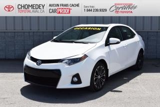 Used 2016 Toyota Corolla S for sale in Laval, QC