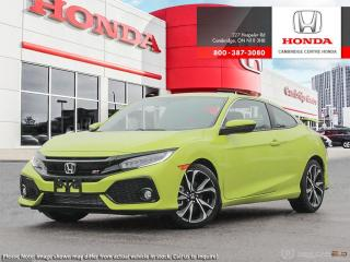 New 2019 Honda Civic Si si for sale in Cambridge, ON