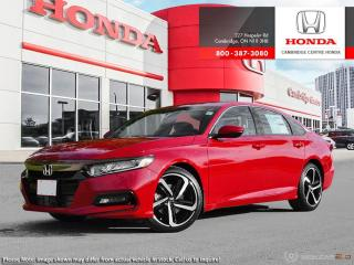 New 2019 Honda Accord Sport 1.5T SPORT for sale in Cambridge, ON