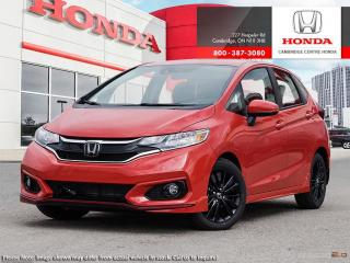 New 2019 Honda Fit Sport SPORT for sale in Cambridge, ON