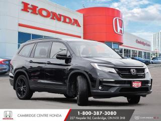 Used 2019 Honda Pilot Black Edition HEATED SEATS | REMOTE STARTER | HONDA SENSING TECHNOLOGIES for sale in Cambridge, ON