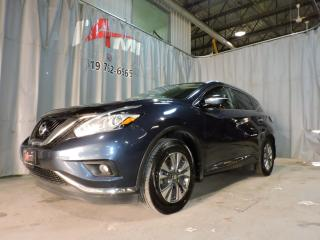 Used 2015 Nissan Murano Sl Gps Cuir Toît for sale in Rouyn-Noranda, QC
