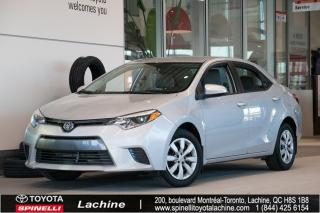 Used 2015 Toyota Corolla Le A/c for sale in Lachine, QC