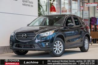 Used 2016 Mazda CX-5 GS SIÈGES CHAUFFANT! BLUETOOTH! MAGS! TOIT OUVRANT! PNEUS D'HIVER INCLUS! SUPER PRIX! FAITES VITE! for sale in Lachine, QC