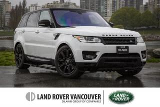 Used 2017 Land Rover Range Rover Sport Diesel Td6 HSE *Certified Pre-Owned! for sale in Vancouver, BC