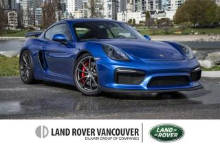 Used 2016 Porsche Cayman GT4 *Sport Chrono Package! for sale in Vancouver, BC