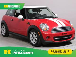 Used 2013 MINI Cooper A/C TOIT CUIR for sale in St-Léonard, QC