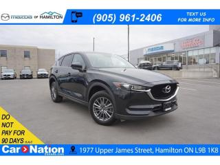 Used 2018 Mazda CX-5 GS | LEATHERETTE | HEATED SEATS | REAR CAM for sale in Hamilton, ON