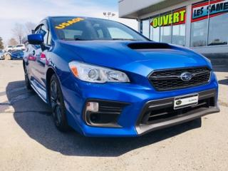 Used 2018 Subaru WRX Base for sale in Lévis, QC