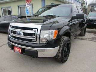 Used 2013 Ford F-150 WORK READY XLT MODEL 6 PASSENGER 5.0L - V8.. 4X4.. CREW.. SHORTY.. SYNC TECHNOLOGY.. CD/AUX/USB INPUT.. BLUETOOTH SYSTEM.. for sale in Bradford, ON