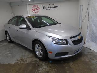 Used 2012 Chevrolet Cruze LT Turbo for sale in Ancienne Lorette, QC