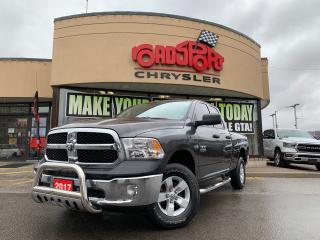 Used 2017 RAM 1500 QUAD CAB+4X4+SXT PLUS+BACKUP CAMERA+ONE OWNER for sale in Toronto, ON