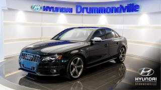 Used 2012 Audi S4 PREMIUM + GARANTIE + TOIT + MAGS 19PO + for sale in Drummondville, QC