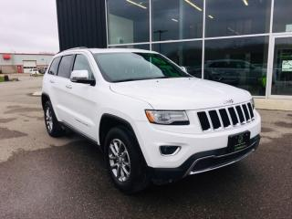 Used 2014 Jeep Grand Cherokee Limited for sale in Ingersoll, ON