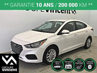 Used 2018 Hyundai Accent PREFERRED ** GARANTIE 10 ANS ** Fiable et économique! for sale in Shawinigan, QC