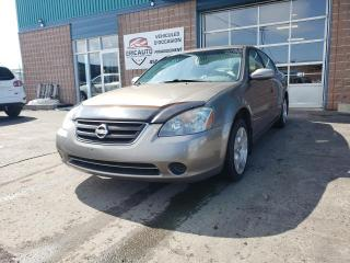 Used 2003 Nissan Altima for sale in St-Eustache, QC