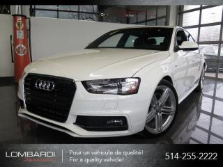 Used 2015 Audi A4 TECHNIK PLUS|S-LINE|B&O|NAV|QUATTRO| for sale in Montréal, QC