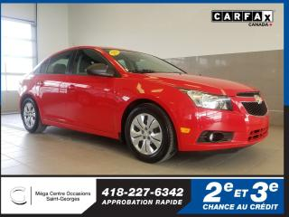 Used 2014 Chevrolet Cruze 1ls / 6 Vit for sale in St-Georges, QC