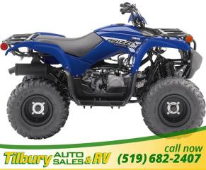 Used 2019 Yamaha Grizzly 90 PERFECT KIDS MACHINE! for sale in Tilbury, ON