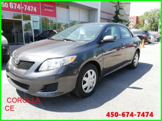 Used 2010 Toyota Corolla * SUPERBE CONDITION * for sale in Longueuil, QC