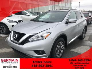 Used 2017 Nissan Murano Toit Pano - Cruise for sale in Donnacona, QC