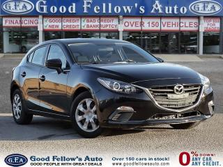 Used 2015 Mazda MAZDA3 GX MODEL, SKYACTIVE, BLUETOOTH for sale in Toronto, ON