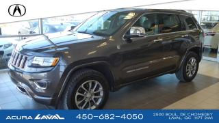 Used 2016 Jeep Grand Cherokee Overland for sale in Laval, QC