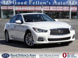 Used 2015 Infiniti Q50 6CYL 3.7 LITER, AWD, LEATHER SEATS, SUNROOF, NAVI for sale in Toronto, ON