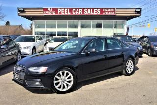 Used 2014 Audi A4 KOMFORT|LEATHER|SUNROOF for sale in Mississauga, ON